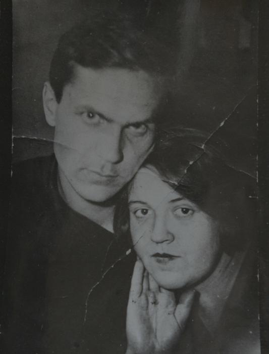 Шаламов с Галиной Игнатьевной Гудзь