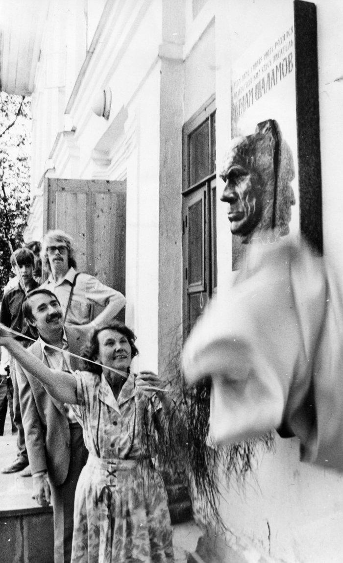 Открытие мемориальной доски на доме, где родился Шаламов (2)