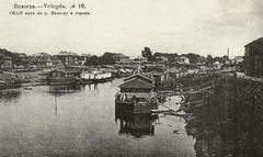 Старая Вологда. Вид на реку
