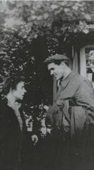 Слежка. Шаламов с Ольгой Сергеевной Неклюдовой. Из архива КГБ (2)