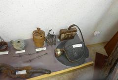 Орудия труда и экипировка заключенных-шахтеров