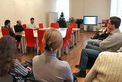 Представление сайта shalamov.ru в Вологодской областной универсальной научной библиотеке