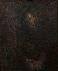 Портрет Шаламова работы Б.Г. Биргера