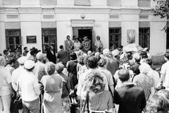 The Opening of the memorial Plaque at a Wall of Shalamov's house (Vologda) (2)