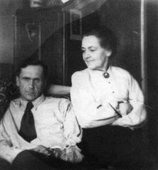 Шаламов с Марией Игнатьевной Гудзь