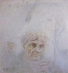 Портрет Шаламова работы И.Н. Хегая