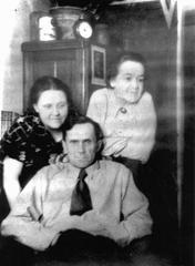 Шаламов с Галиной Игнатьевной и Марией Игнатьевной Гудзь