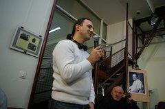 На вечере-демонстрации фильма Светланы Быченко 18 января 2012 г., посвящённом 30-летию со дня смерти В.Т. Шаламова (б)