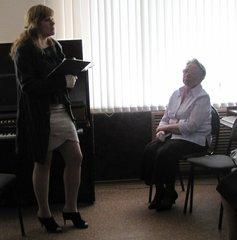 Главный библиотекарь организационно-методического отдела Елена Кондрашина