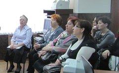 На краеведческой конференции «Шаламов и Клинский край» (а)