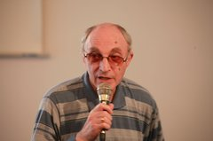 Юрий Фрейдин на вечере в Москве