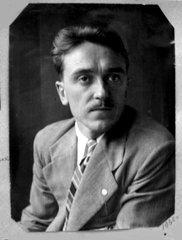 Борис Игнатьевич Гудзь. 1936 г.