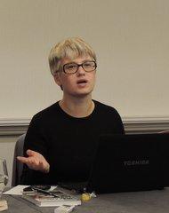 Елена Михайлик на Конференции Американской ассоциации преподавателей славянских и восточноевропейских языков