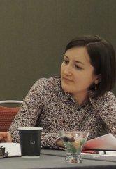Анна Гаврилова на Конференции Американской ассоциации преподавателей славянских и восточноевропейских языков