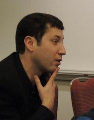 Яша Клоц на Конференции Американской ассоциации преподавателей славянских и восточноевропейских языков