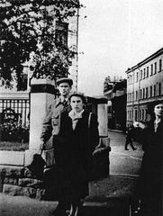 Слежка. Шаламов с Ольгой Сергеевной Неклюдовой. Из архива КГБ (1)