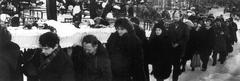 Похороны В.Т. Шаламова. Панорамная фотография (1)