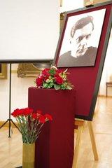 Фото Шаламова в Вологодской картинной галерее